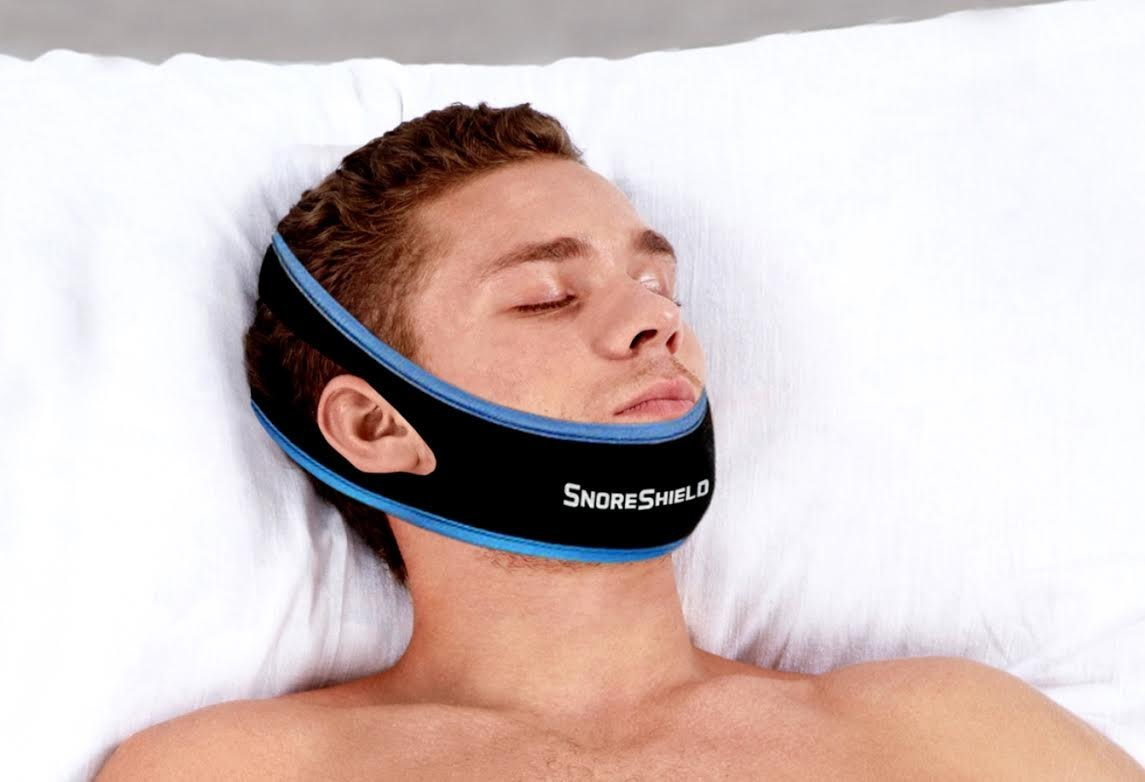 Snoreshield Adjustable Anti Snoring Chin Strap Snore Stopper Sleep Aid Instant Stop Snoring Solution Natural Snore Relief Simple And Fast Upgraded Version A Bargain Brand