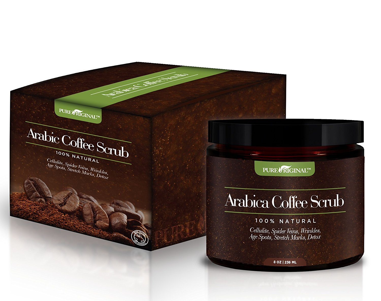 Arabica Coffee Scrub For Stretch Marks